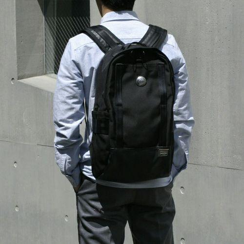 【JAM HOME MADE(ジャムホームメイド)】ポーター/PORTER バックパック / リュック メンズ PVC コーデュラ リュック バックパック ブラック 旅行