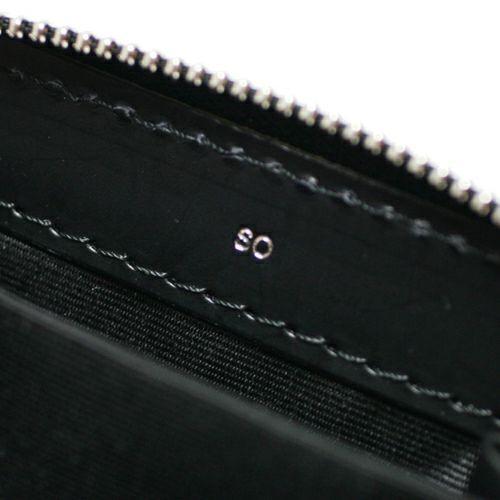 ミニウォレット / 沖嶋 信 - SO (Shin Okishima) モデルウォレット -STUDS- メンズ レザー ブラック 人気 おすすめ 薄型 プレゼント ギフト 小銭入れ スタッズ ウォレットチェーン