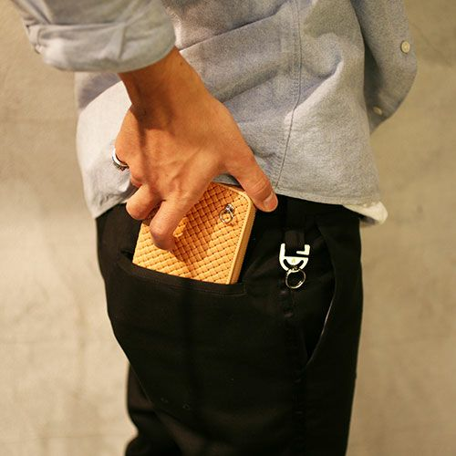【JAM HOME MADE(ジャムホームメイド)】NUMBER(N)INE ZIP LONG WALLET -NUME-