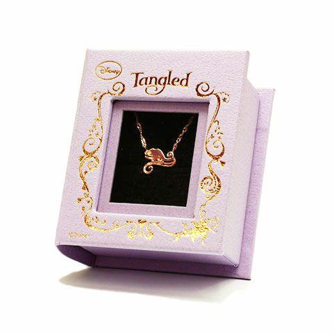 """ラプンツェル - """"Tangled"""" パスカルネックレス"""