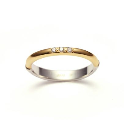 【ジャムホームメイド(JAMHOMEMADE)】ミニ ジャム ラウンド ラブリング S / 指輪