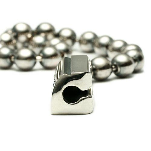 ブレスレット / AB型 ボールチェーンブレスレット -NEW TYPE- メンズ レディース ペア シルバー 925 シンプル おすすめ ブランド 人気 プレゼント ギフト ペア ダイヤモンド 血液型 サイズ調整