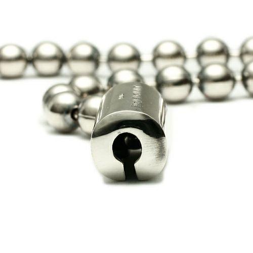 【JAM HOME MADE(ジャムホームメイド)】O型 ボールチェーンブレスレット -NEW TYPE- メンズ レディース ペア シルバー 925 シンプル おすすめ ブランド 人気 プレゼント ギフト ペア ダイヤモンド 血液型 サイズ調整