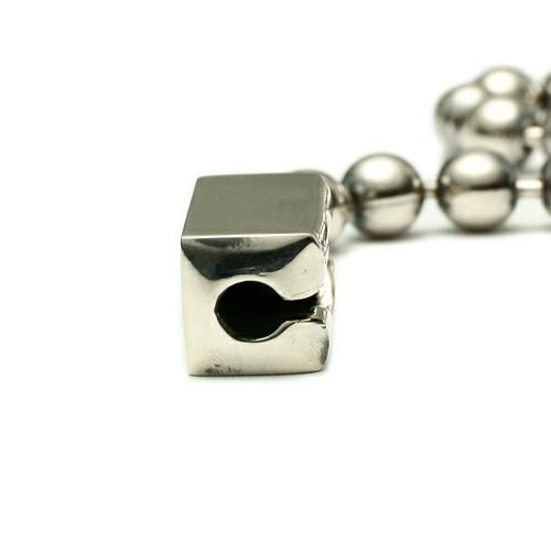 ブレスレット / B型 ボールチェーンブレスレット -NEW TYPE- メンズ レディース ペア シルバー 925 シンプル おすすめ ブランド 人気 プレゼント ギフト ペア ダイヤモンド 血液型 サイズ調整
