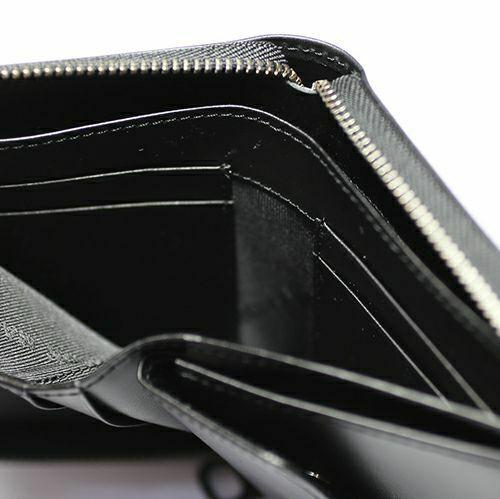 10月 誕生石ファスナーミディアムウォレット -LaVish- / 二つ折り財布