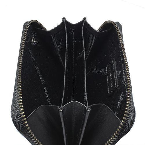 【JAM HOME MADE(ジャムホームメイド)】BLACK DIAMOND ファスナーコインケース -LaVish- / 小銭入れ 財布 メンズ ユニセックス ブランド 人気 おすすめ 使い始め 牛革 ブラック ヌメ革 シンプル プレゼント ギフト 誕生日 誕生石