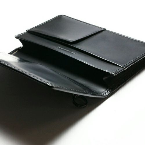 【JAM HOME MADE(ジャムホームメイド)】BLACK DIAMOND カードケース -LaVish- / 名刺入れ メンズ ブランド 人気 おすすめ 牛革 ブラック ヌメ革 シンプル 名刺入れ たくさん入る プレゼント ギフト 誕生日 機能性 ビジネス