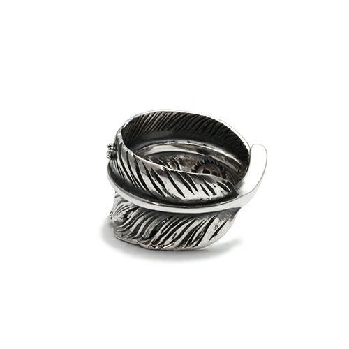 【ジャムホームメイド(JAMHOMEMADE)】ダイヤモンド フェザー リング M / 指輪
