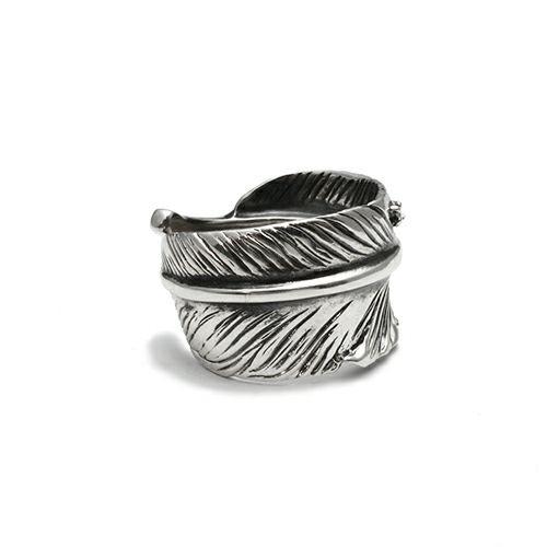 指輪 / ダイヤモンドフェザーリング M メンズ シルバー 925 人気 ブランド おすすめ 羽 ネイティブ モダン