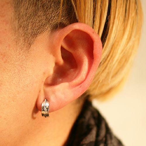 【JAM HOME MADE(ジャムホームメイド)】ダイヤモンドフェザーピアス メンズ シルバー 片耳 シンプル 人気 おすすめ ブランド プレゼント 誕生日 ギフト羽 モチーフ ネイティブ
