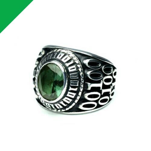 5月 誕生石 0010ハイブリッドカレッジリング M / 指輪