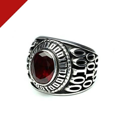 1月 誕生石 0010ハイブリッドカレッジリング M / 指輪