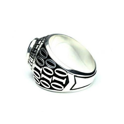 【JAM HOME MADE(ジャムホームメイド)】1月 誕生石 0010ハイブリッドカレッジリング M / 指輪 メンズ シルバー 人気 おすすめ ブランド スクールリング 本場 アメリカ 職人 ハンドメイド