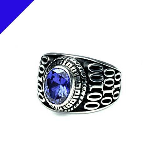 【ジャムホームメイド(JAMHOMEMADE)】9月 誕生石 0010ハイブリッド カレッジリング S / 指輪