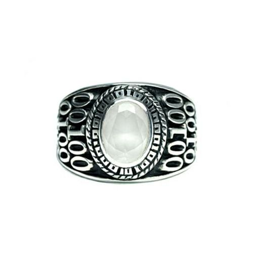 【ジャムホームメイド(JAMHOMEMADE)】6月 誕生石 0010ハイブリッド カレッジリング S / 指輪