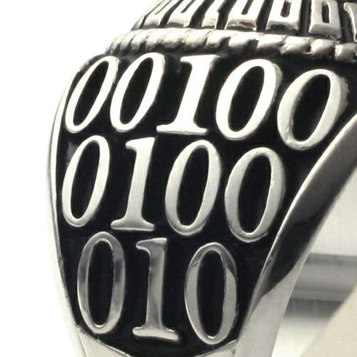 指輪 / 5月 誕生石 0010ハイブリッドカレッジリング S メンズ シルバー 人気 おすすめ ブランド スクールリング 本場 アメリカ 職人 ハンドメイド