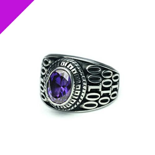 2月 誕生石 0010ハイブリッドカレッジリング S / 指輪