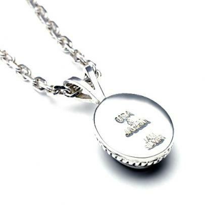 【ジャムホームメイド(JAMHOMEMADE)】4月 誕生石 0010 ハイブリッド カレッジリング ネックレス