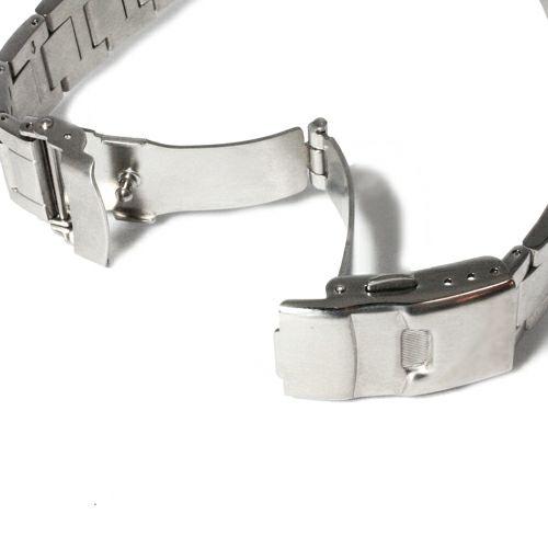 腕時計 / ジャムダイヤモンドウォッチ -SILVER-  メンズ シルバー ダイヤモンド クォーツ 10気圧 アナログ 日付表示 生活防水