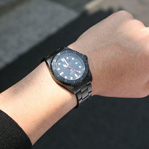 ジャムダイヤモンドウォッチ TYPE M -BLACK- / 腕時計