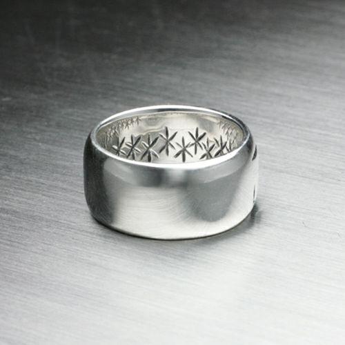 指輪 / ジーザス&マリアリング -JESUS- メンズ シルバー 人気 おすすめ ブランド キリスト ペア シンプル 太め 幅