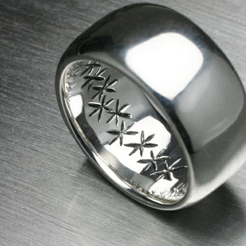 【JAM HOME MADE(ジャムホームメイド)】ジーザス&マリアリング -JESUS- / 指輪 メンズ シルバー 人気 おすすめ ブランド キリスト ペア シンプル 太め 幅