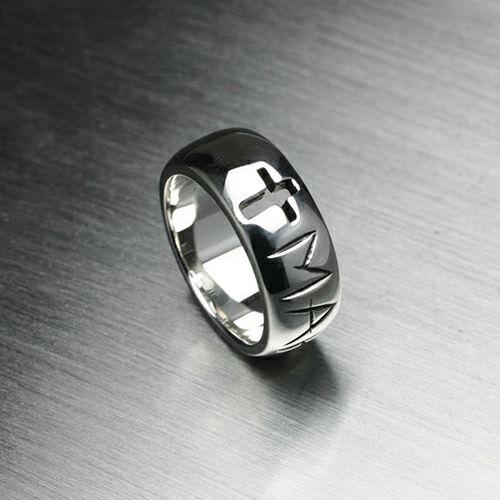 指輪 / ジーザス&マリアリング -MARIA- メンズ  レディース シルバー 人気 おすすめ ブランド キリスト マリア ペア シンプル 太め 幅
