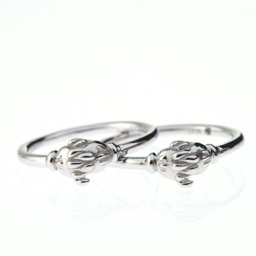 """ミッキー&ミニー """"MICKEY & MINNIE"""" シェイクハンドマリッジリング M -PT900- / 結婚指輪・マリッジリング"""