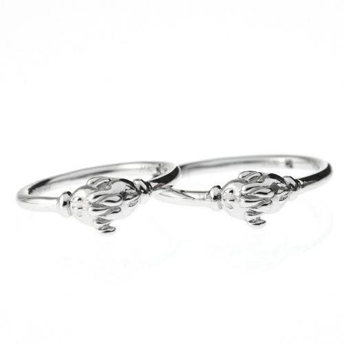 【ジャムホームメイド(JAMHOMEMADE)】ミッキー & ミニー シェイクハンド マリッジリング S -PT900- / 結婚指輪・マリッジリング