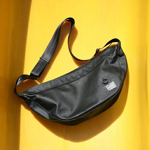 【JAM HOME MADE(ジャムホームメイド)】ポーター/PORTER バナナショルダーバッグ メンズ レディース ユニセックス ショルダー ボディ メッセンジャー 旅行 ブラック 防水