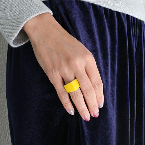 そんなバナナスライスリング LS -YELLOW- / 指輪