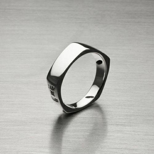 指輪 / そんなバナナスライスリング SS メンズ レディース シルバー 925 人気 おすすめ ブランド ペア シンプル 太め 幅 ダイヤモンド