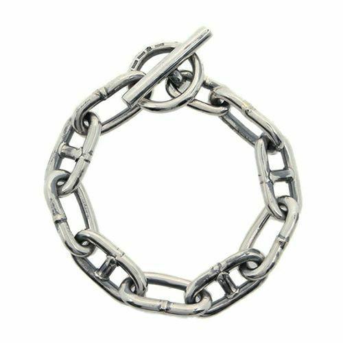 ブレスレット / マリンチェーンブレスレット メンズ シルバー 925 ブランド 人気 おすすめ シンプル チェーン ボリューム プレゼント ギフト 腕周り