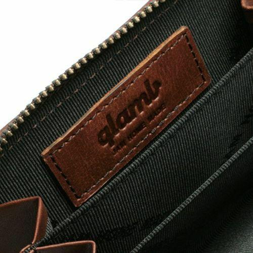 グラム/glamb GAUDY ファスナーコインケース -BROWN- / 財布・革財布
