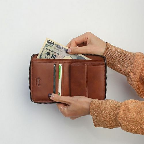 二つ折り財布 / グラム/glamb GAUDY ファスナーショートウォレット -MULTI-