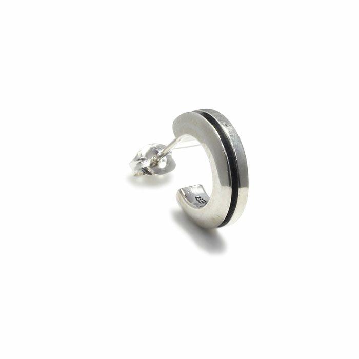 ピアス / AB型 ピアス -NEW TYPE- メンズ レディース シルバー 925 片耳 シンプル 人気 おすすめ ブランド プレゼント 誕生日 ギフト 血液型 ペア