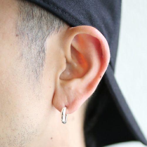 【JAM HOME MADE(ジャムホームメイド)】O型 ピアス -NEW TYPE- メンズ レディース シルバー 925 片耳 シンプル 人気 おすすめ ブランド プレゼント 誕生日 ギフト 血液型 ペア