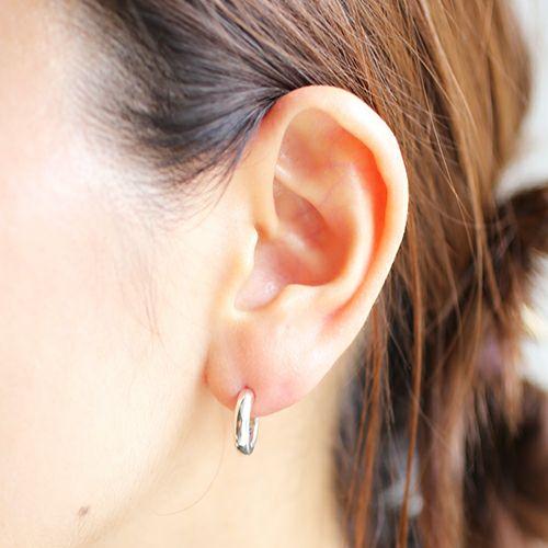 ピアス / O型 ピアス -NEW TYPE- メンズ レディース シルバー 925 片耳 シンプル 人気 おすすめ ブランド プレゼント 誕生日 ギフト 血液型 ペア
