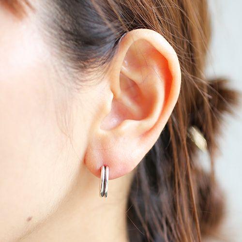 ピアス / B型 ピアス -NEW TYPE- メンズ レディース シルバー 925 片耳 シンプル 人気 おすすめ ブランド プレゼント 誕生日 ギフト 血液型 ペア