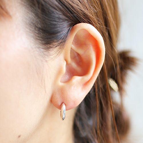 ピアス / A型 ピアス -NEW TYPE- メンズ レディース シルバー 925 片耳 シンプル 人気 おすすめ ブランド プレゼント 誕生日 ギフト 血液型 ペア