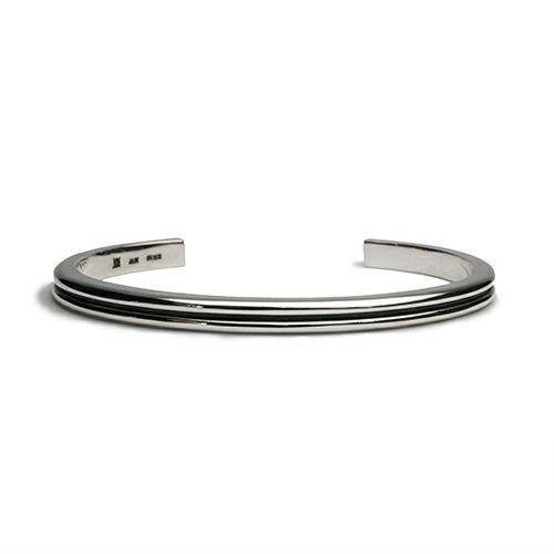 ブレスレット / B型 バングル -NEW TYPE- メンズ シルバー 925 ブランド 人気 おすすめ シンプル ブレスレット プレゼント ギフト ダイヤモンド