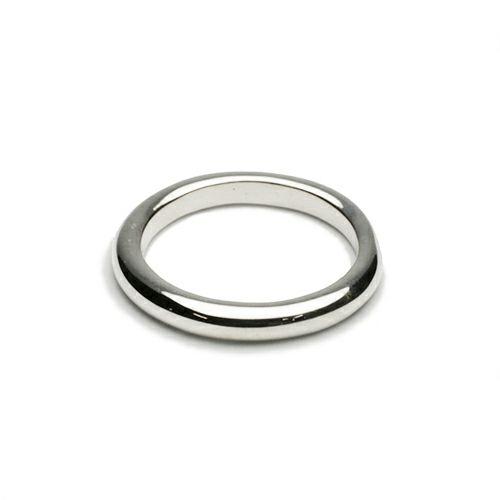 【ジャムホームメイド(JAMHOMEMADE)】O型 リング S NEW TYPE (血液型) - シルバー / 指輪