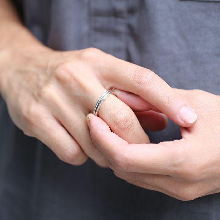 【JAM HOME MADE(ジャムホームメイド)】B型 リング M -NEW TYPE- / 指輪 メンズ レディース シルバー ペア 人気 おすすめ ブランド ギフト プレゼント クリスマス  記念日 変わった おもしろい シンプル ダイヤモンド