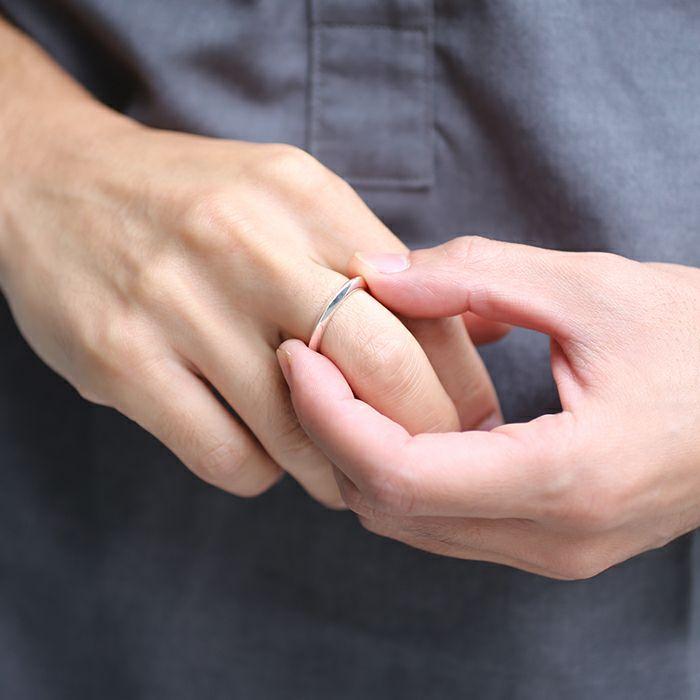 【JAM HOME MADE(ジャムホームメイド)】A型 リング M -NEW TYPE- / 指輪 メンズ レディース シルバー ペア 人気 おすすめ ブランド ギフト プレゼント クリスマス  記念日 変わった おもしろい シンプル ダイヤモンド