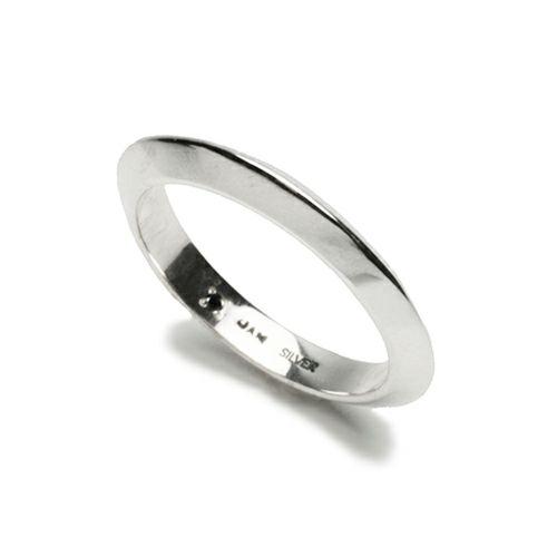 【JAM HOME MADE(ジャムホームメイド)】A型 リング S -NEW TYPE- / 指輪 メンズ レディース シルバー ペア 人気 おすすめ ブランド ギフト プレゼント クリスマス  記念日 変わった おもしろい シンプル ダイヤモンド