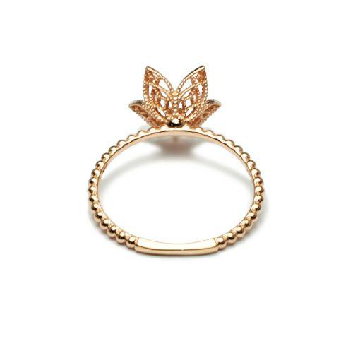 """アラジン - """"Aladdin"""" ジャスミンリング -K10PINKGOLD- / 指輪"""