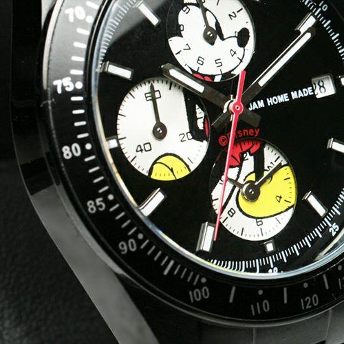 """シークレットミッキー""""MICKEY""""ウォッチ TYPE-1 -BLACK- / 腕時計"""