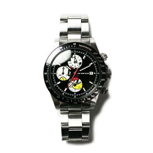 """シークレットミッキー""""MICKEY""""ウォッチ TYPE-1 -SILVER- / 腕時計"""
