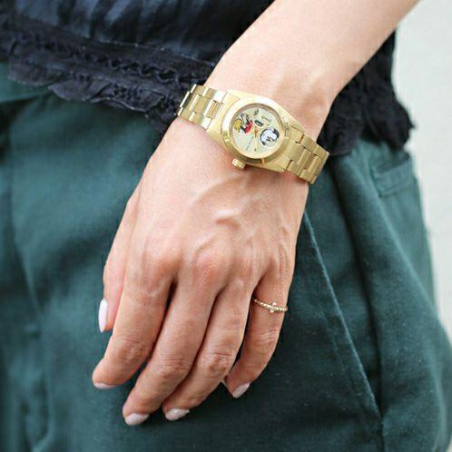 """シークレットミッキー""""MICKEY""""ウォッチ TYPE-4 ver.2 -GOLD- / 腕時計 -レディース- / 時計・腕時計 / レディース 時計・腕時計"""