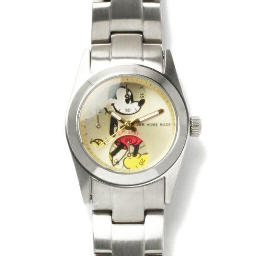 """シークレットミッキー""""MICKEY""""ウォッチ TYPE-4 ver.2 -SILVER- / 腕時計"""